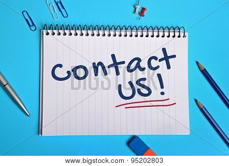 Contact Us Word