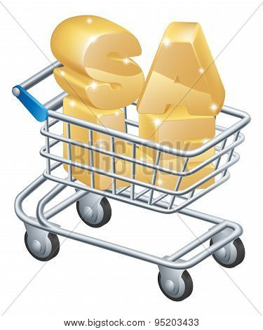 Sale Shopping Trolley