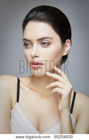Classic Brunete Portrait