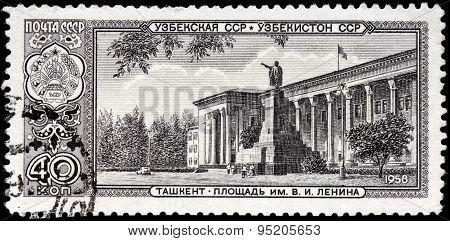 Tashkent Stamp