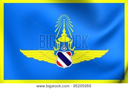 Commander-in-chief Of The Royal Thai Air Force Flag