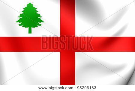 Flag Of New England (1686)