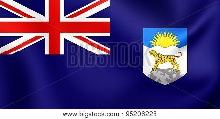 Flag Of Nyasaland Protectorate (1919-1964)