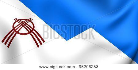 Flag Of Osh, Kyrgyzstan.
