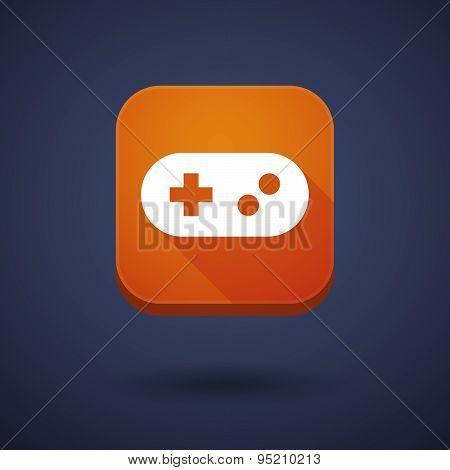 App Button With A Game Pad