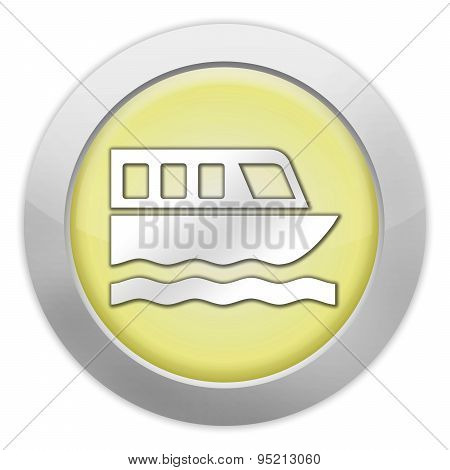 Icon, Button, Pictogram Boat Tour