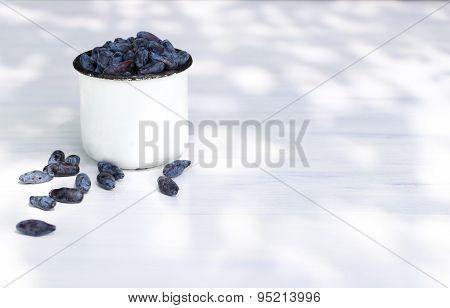 Honeysuckle Berries In A Mug