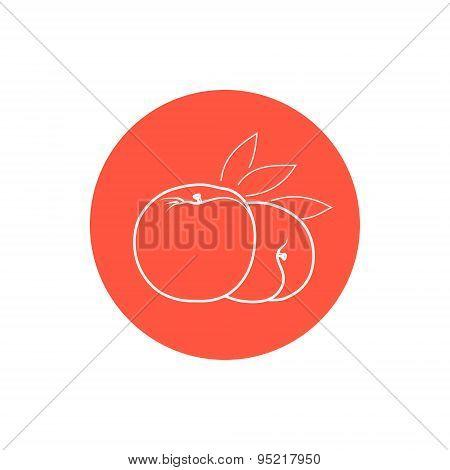 Icon Peach In The Contours