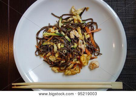 Chinese Spaghetti Dish