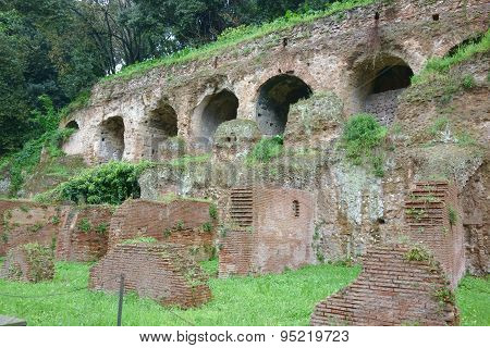 Substructures And Insula, Ancient Roman Residence