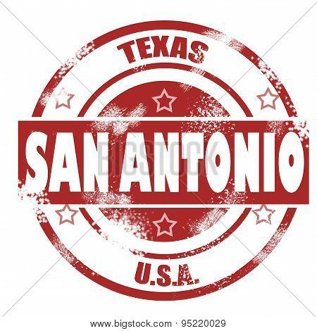 San Antonio Stamp
