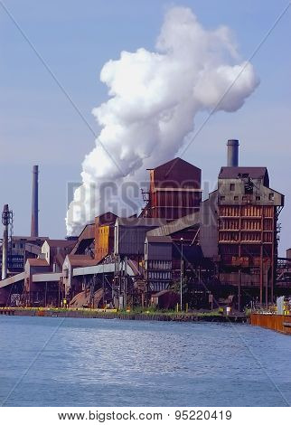 Detroit Area Steelmill