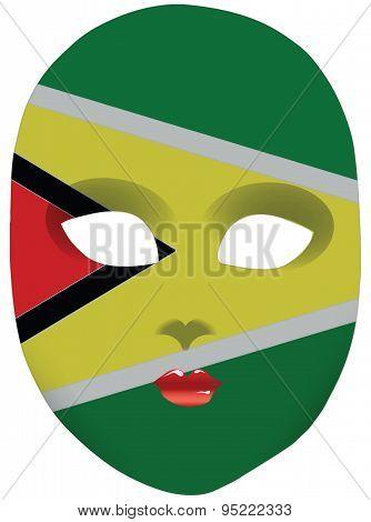 Guyana Mask