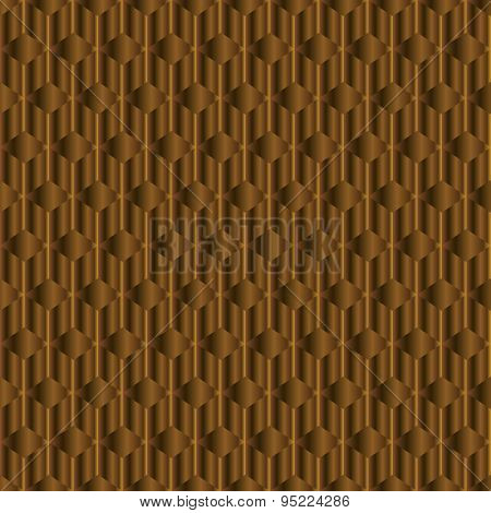 Hazel Background With Rhombus And Rods