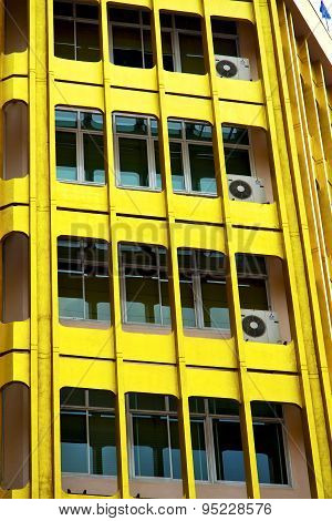 Bangkok Terrace  Thailand  In Office District  Yellow Palaces    Fan