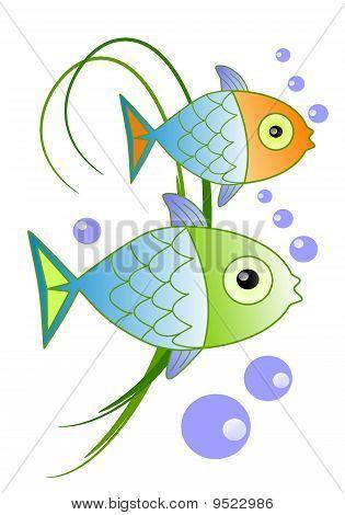 Fish say blob