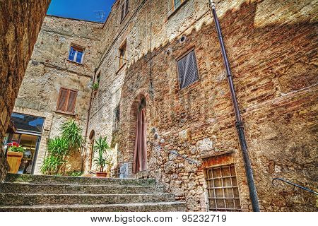 Typical Corner Of San Gimignano
