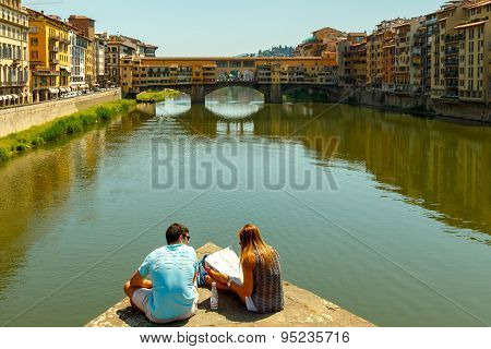 Florence. Ponte Vecchio.