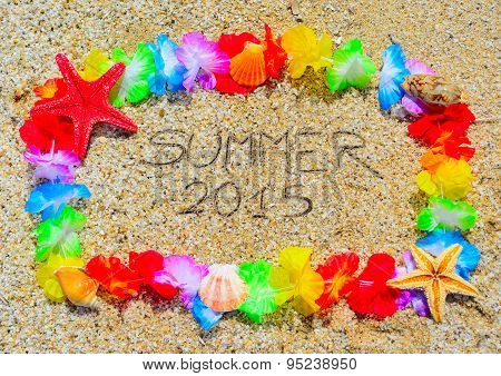 Summer 2015  In A Hawaiian Frame