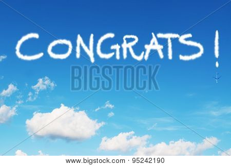 Congrats! Written In The Sky