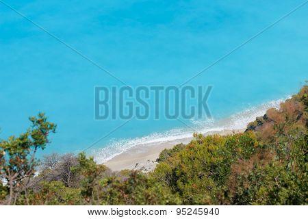 Lefkada. Egremni beach