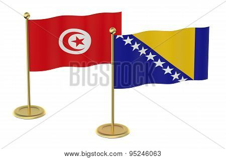 Meeting Turkey And Bosnia And Herzegovina Concept