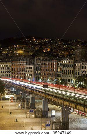 Genoa By Night, Italy