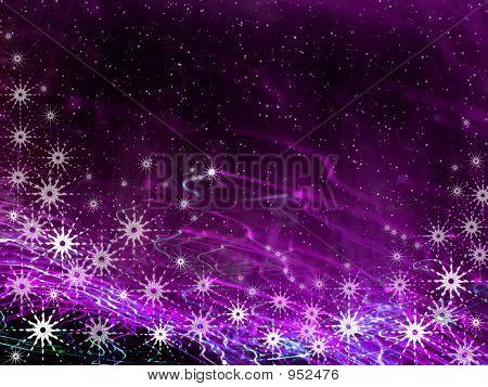 Weihnachten violett Magic Hintergrund