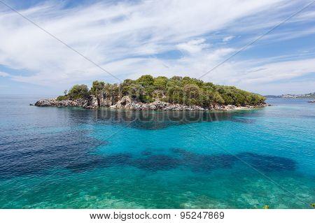 Syvota, Agia Paraskevi island