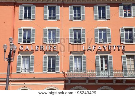 Gallery Lafayette, Nice, France