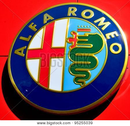 Sign of Alfa Romeo