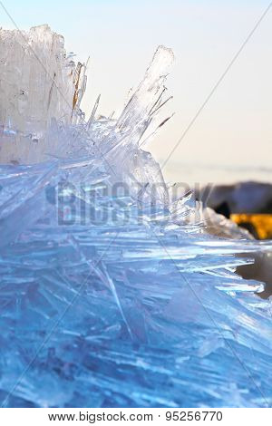 melting spring ice, Taimyr, Russia