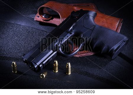 Gun Holster and Ammo