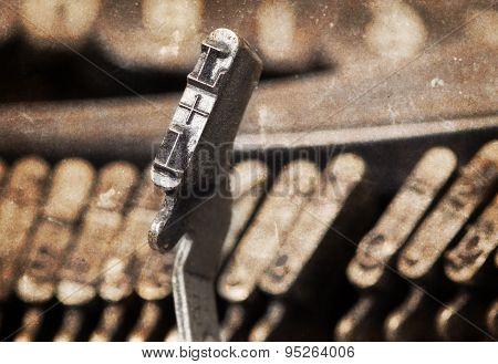 L Hammer - Old Manual Typewriter - Warm Filter