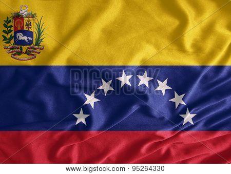 Venezuela Flag Fabrics