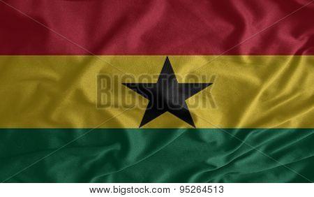 Ghana  Flag Fabrics