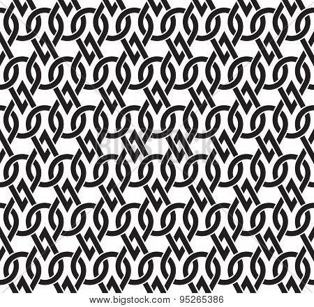Seamless pattern of the links in form of drops