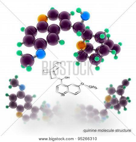 quinine Molecule Structure