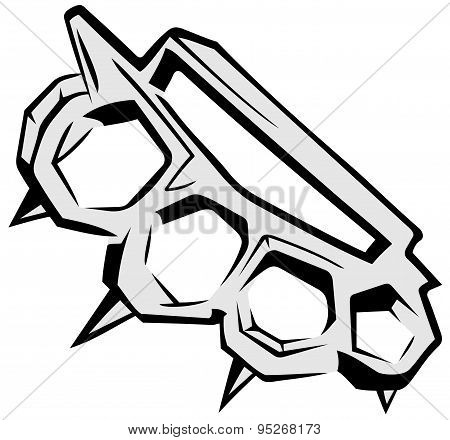 knuckle-duster boxing weapon
