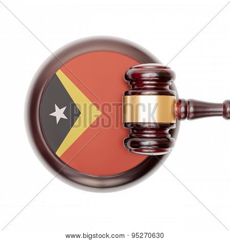 National Legal System Conceptual Series - East Timor