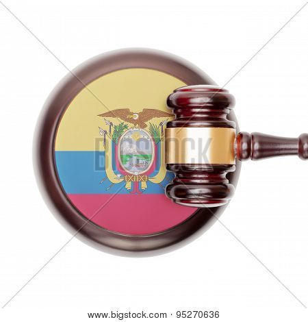 National Legal System Conceptual Series - Ecuador