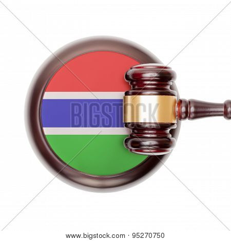 National Legal System Conceptual Series - Gambia