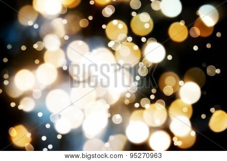dark bokeh background