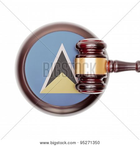National Legal System Conceptual Series - Saint Lucia