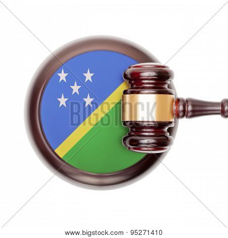 National Legal System Conceptual Series - Solomon Islands