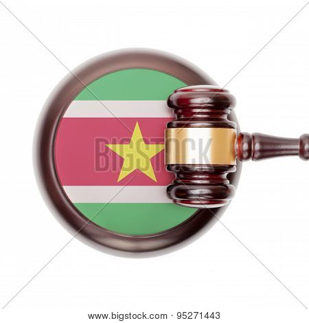 National Legal System Conceptual Series - Suriname