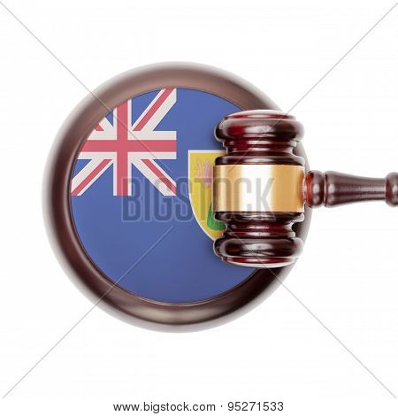 National Legal System Conceptual Series - Turks And Caicos Islands
