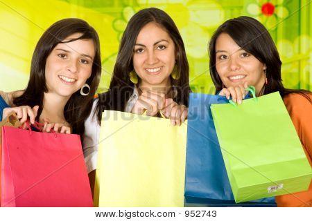 Chicas de compras
