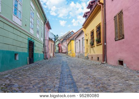 Street in Sighisoara