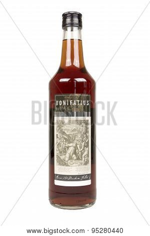 Bottle With Bonifatius Bitter.